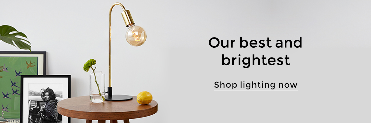 MADE.COM - Shop Lighting(banner)